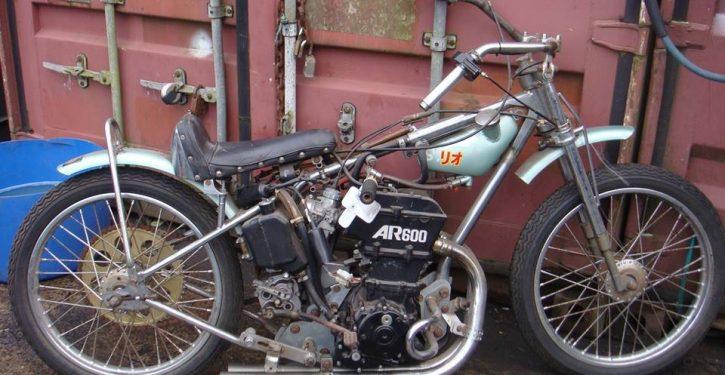 Suzuki speedway bike