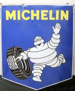 vintage michelin sign
