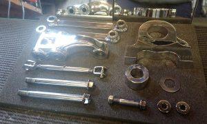 Suzuki GSX-R1100 K Slingshot polishing