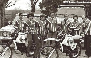 1979 Dakar Yamaha Team