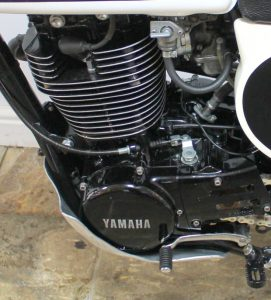 1977 Yamaha XT500 engine