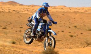 Yamaha XT500 Dakar Rally