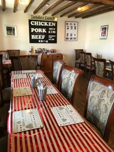 Tallington Farm Shop Cafe interior