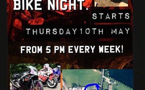 Classic Motorbikes Tallington Farm Shop Bike Night