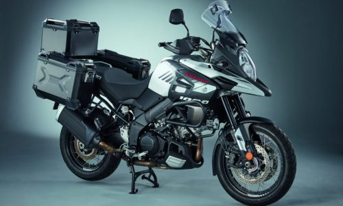 V-Strom 1000 aluminium luggage set