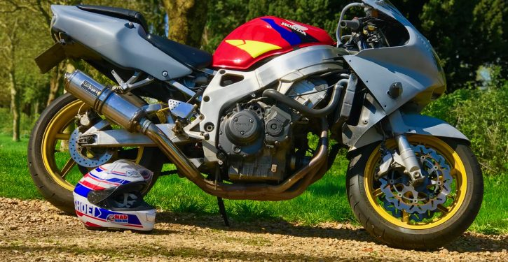 Tatty Honda Fireblade