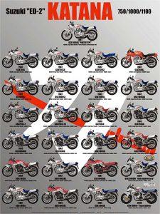 Suzuki Katana poster