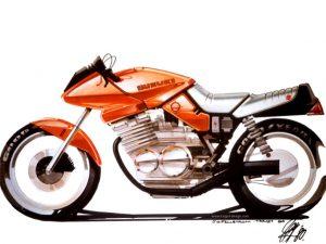 design sketch Katana