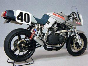 David Aldana's AMA Superbike 'Pops' Yoshimura.