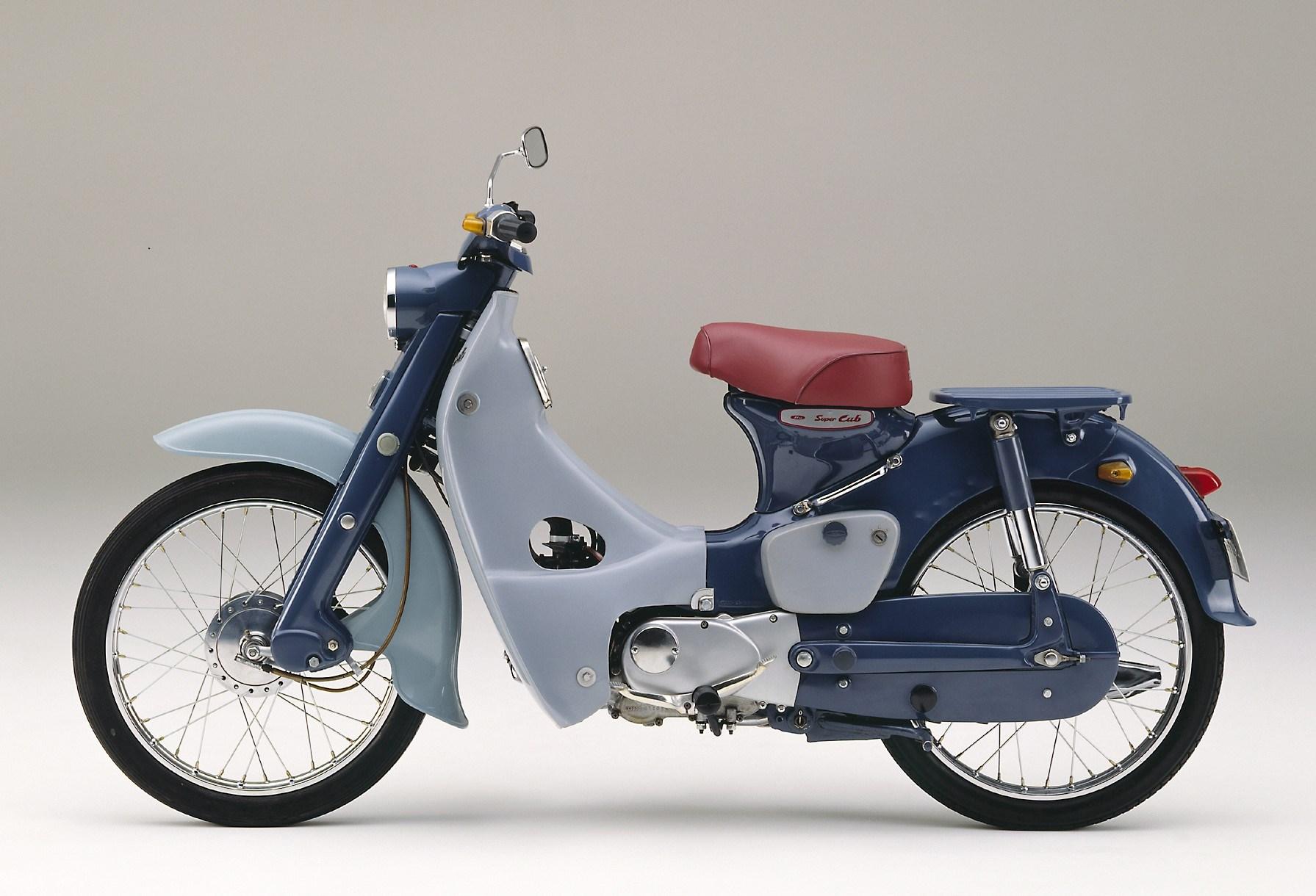 honda super cub c125 classic motorbikes. Black Bedroom Furniture Sets. Home Design Ideas