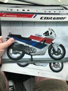 1990 Honda CBR600F Brochure