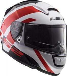 LS2 Vector HPFC EVO Trident White/Red