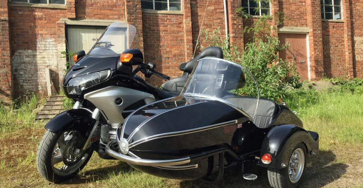 Watsonian sidecars now offer a fitting kit for the 2nd generation Honda GL1800 Gold Wing
