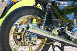 Ducati 900SS rear end