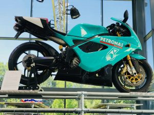 Foggy Petronas F1 Bike
