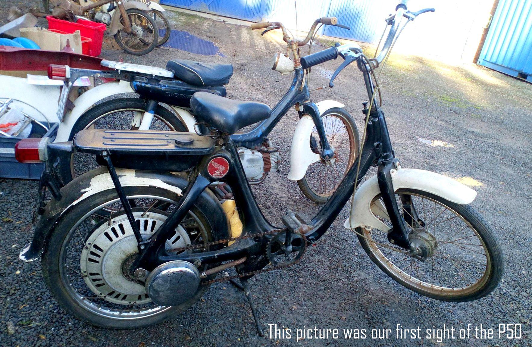 Honda P50 Custom Restoration - Classic MotorbikesClassic-Motorbikes.net