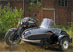 Watsonian's GP700 sidecar offers extra carrying capacity for owners of the Triumph Rocket III
