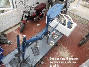 Honda PF50 Restoration