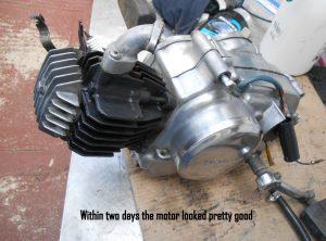 Honda PF50 Novio engine