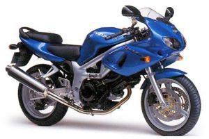 1999 SV650S blue