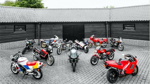 Huge Classic Bike Collection Up For Auction