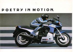 1987 Kawasaki GPz900R