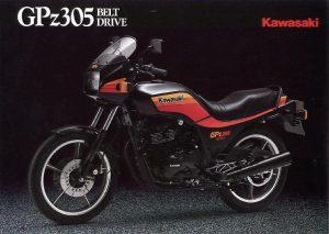 Kawasaki GPZ305 belt drive