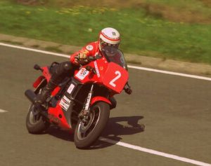 Geoff Johnson IOM Production TT 1984