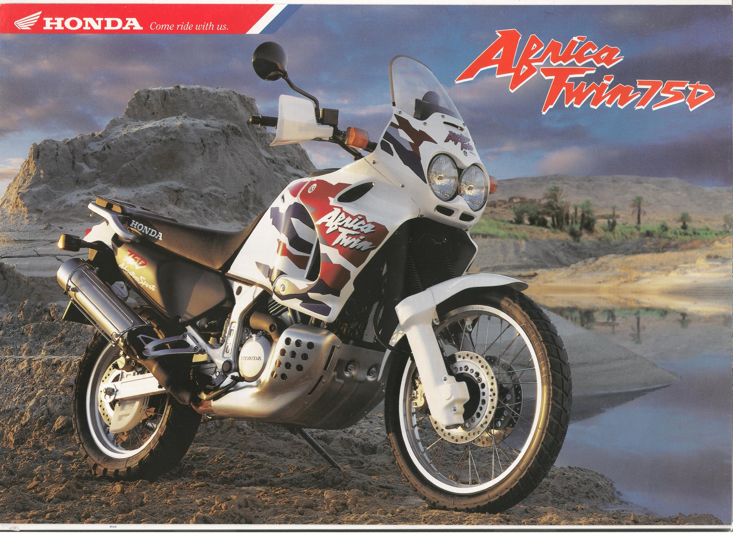 honda xrv750 africa twin 1990 2003 classic motorbikes. Black Bedroom Furniture Sets. Home Design Ideas