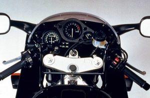 1992 Honda CBR900RR Fireblade Cockpit