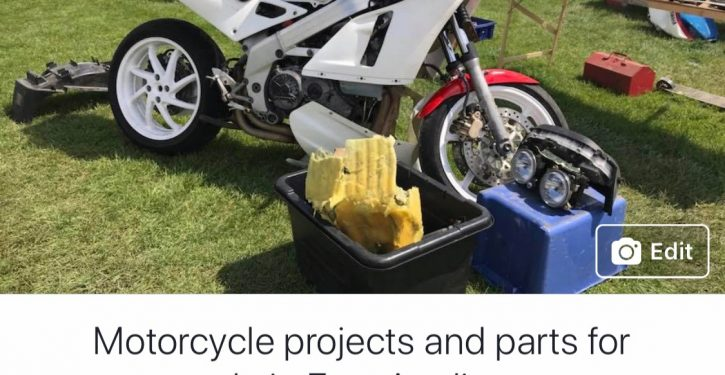 Motorcycle projects and parts for sale in East Anglia