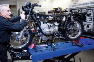 1974 BMW R 90 S rolling chassis