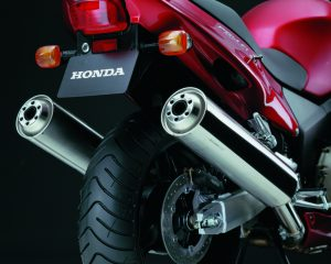Honda CBR1100XX Super Blackbird rear end
