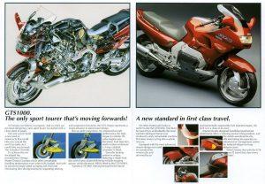 Yamaha GTS1000 Motorcycle Brochure