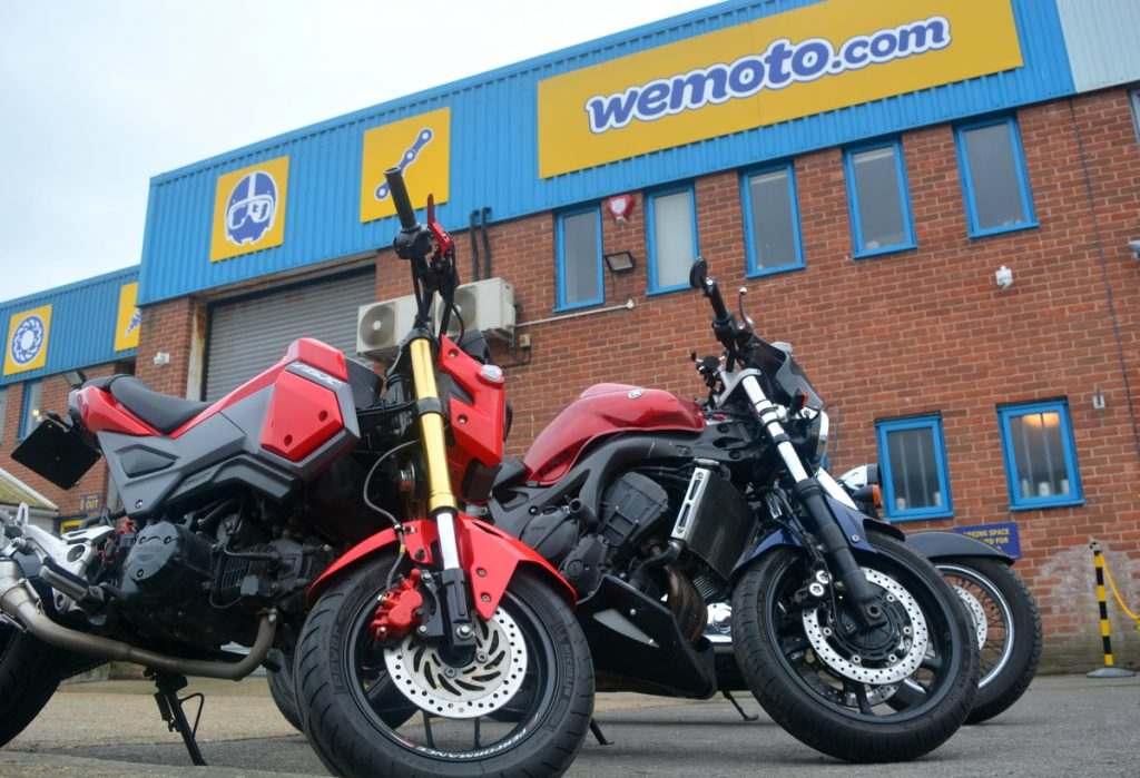 Shopping at wemoto.com