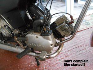 Yamaha FS1 engine