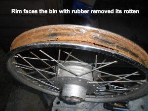 Yamaha FS1 rotten rims!