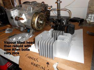 Yamaha FS1 engine restoration