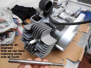 Yamaha FS1 engine restored