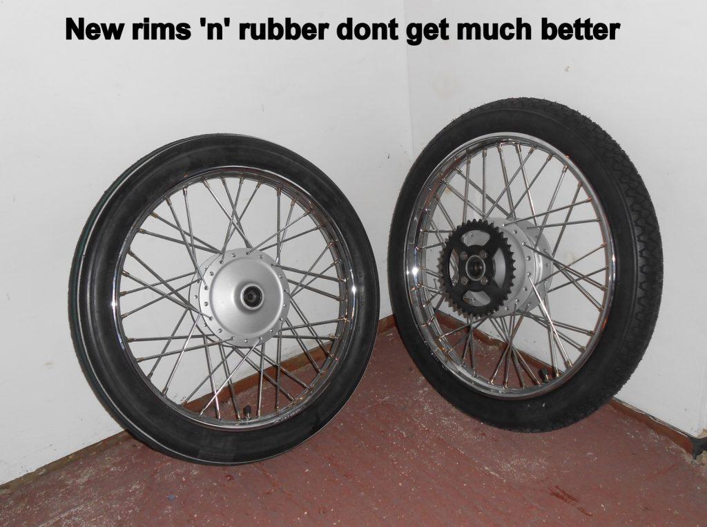 Yamaha FS1 wheels