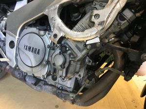 Yamaha FZR1000 EXUP Engine