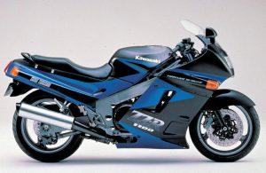Kawasaki ZZ-R1100v