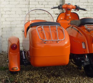 Watsonian have expanded their range of sidecar fitting kits to include the recently-launched range of Royal Alloy scooters