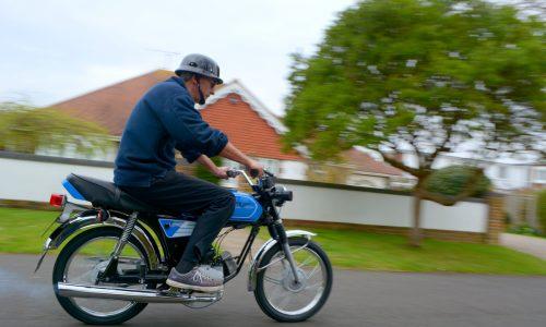 Yamaha FS1e test ride