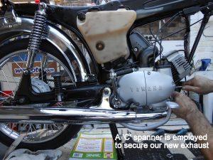 Yamaha FS1E restored