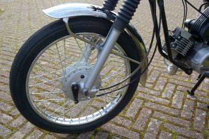 Yamaha FS1E front wheel