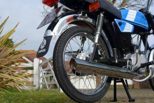 Yamaha FS1E rear end