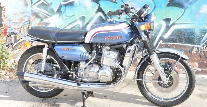 Suzuki GT750 Kettle