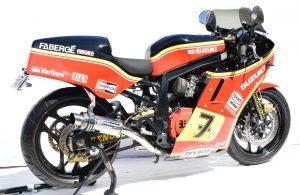 Suzuki GSXR750 Slabside Barry Sheene Replica