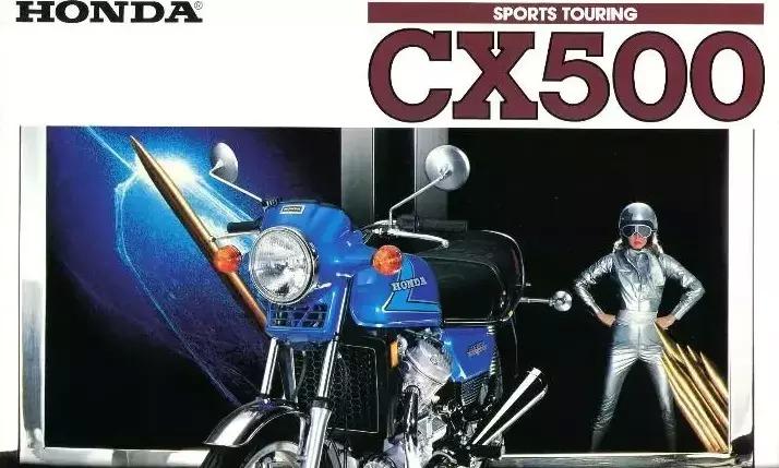 Honda CX500 Sports Tourer advert